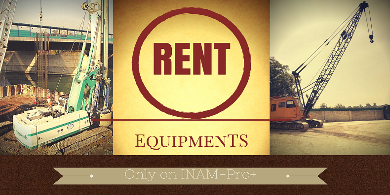 Rent Equipments